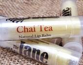 Chai Tea Lip Balm - Masala Chai - Spiced Chai with Cocoa Butter & Beeswax