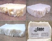 Pick 4 Handmade Sea Salt Soaps - Soap Bundle - Gift Set - Vegan - Dead Sea Salt