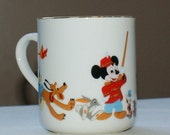 Walt Disney Mug - A Great Mug With All the Characters - Vintage Disney Mug