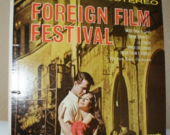 Foreign Film Festival  San Remo Orchestra  Vintage Vinyl  1964