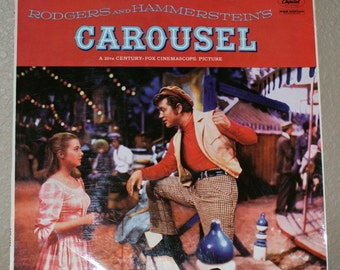 Carousel  - Soundtrack from the Motion Picture - Shirley Jones  LCT 6105
