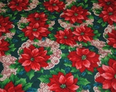 Poinsettia Fabric