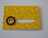 Rolling Monkey on Bananas Card