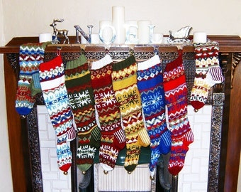 Nordic Stocking Set of 4