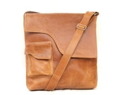 Satchel leather Messenger bag Mens Women Unisex  Leather handbag laptop bag Leather bag
