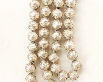 Spacer beads Coptic beads Ethiopian beads jewellery making supply metal spacers