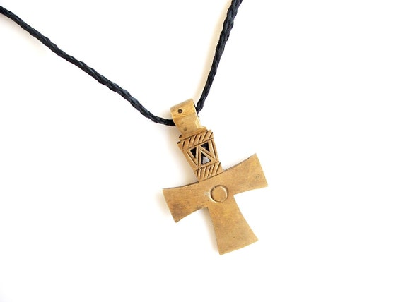 Cross nickels Ethiopia cross simple jewllery Coptic cross Coptic design