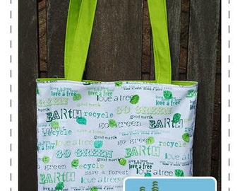 Shopping Tote PDF Sewing Pattern