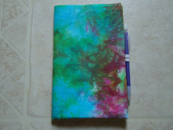 Hand Dyed Sketchbook Cover