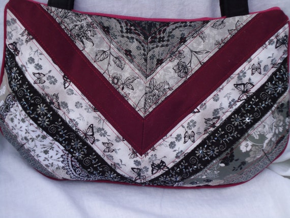Romantic Patchwork Handbag