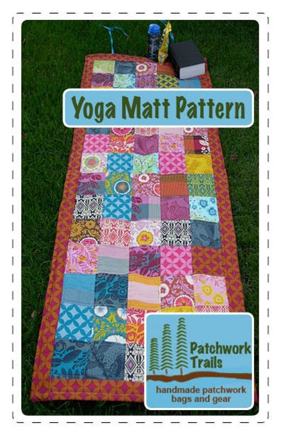 Yoga Matt Sewing Pattern