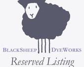 RESERVED for lelanl - DK Weight Baby Alpaca/Merino Wool/Silk Yarn, Hand Dyed - Slate Grey Tonal - Limited Edition