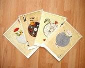Wonderful World Series -  Set of 4 Prints