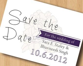 Save the Date Postcards - Digital Design Only