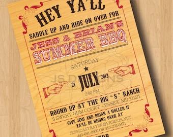 Summer BBQ - Digital Design Only