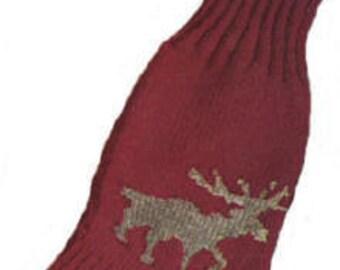 Moose Socks Knitting Pattern PDF Instant Download