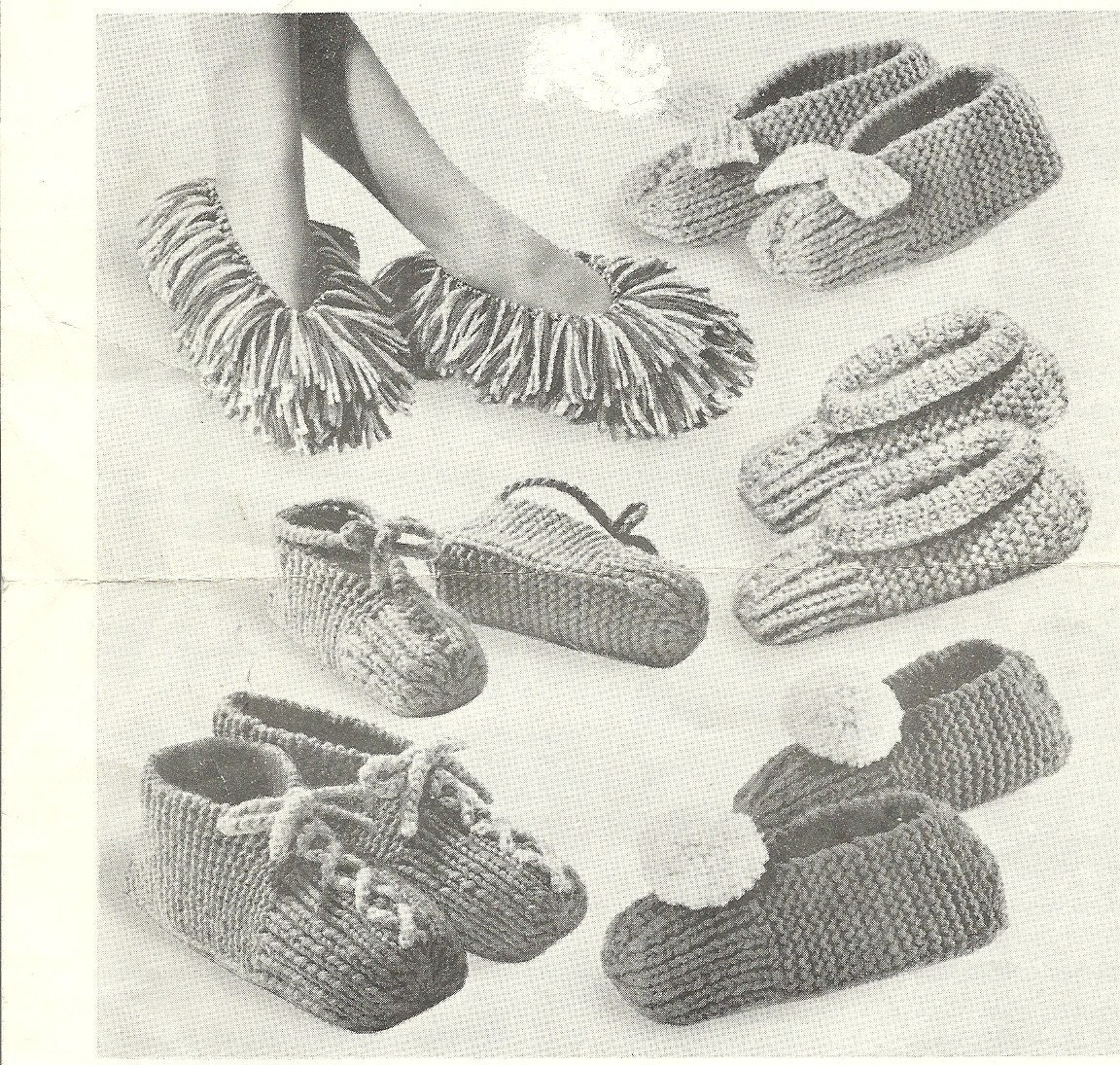 Speedy Slippers Knitting Pattern Men Women Kids PDF Instant