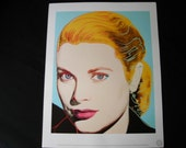 Andy Warhol's Familiar Faces Grace Kelly Reproduction Print