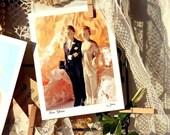 Love Glows - fine art note card - wedding or anniversary