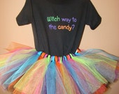 RESERVED LISTING for Emmasgems10 - Tutu Witch's Costume - 3T