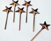 20 miniature star wands
