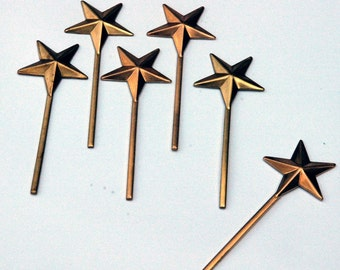 miniature metal magic wish fairy star wand