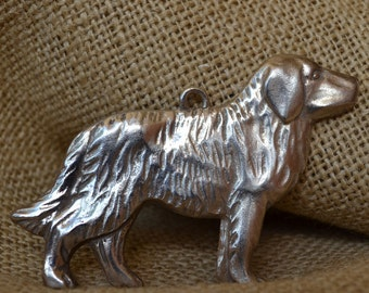 Pewter Dog Milagro Ornament