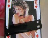 Mature- Vintage Ladies of Poker Collection - Match Box Fridge Magnets