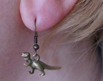 Dinosaurs 2 Sets of Earrings Available  - This listing is for one pair of earrings