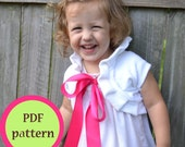 NEW Easy Ruffle Shrug PDF sewing pattern sizes 12mo to 12 girls