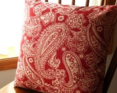 FREE SHIPPING  - Pillow Cover - 1 - 18 inch square - Envelope style closure