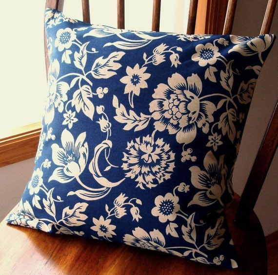 Pillow Cover - FREE SHIPPING  - 1 - 18 inch square - Zipper  closure