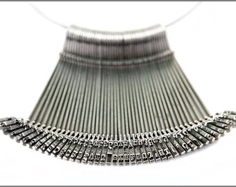 Typewriter Keys Necklace