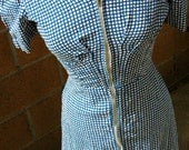 Vintage 1930s House Dress s/m