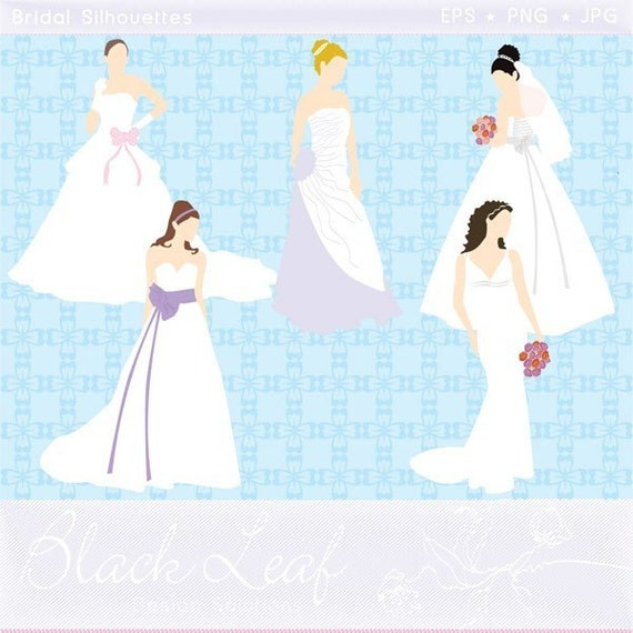 Bridal Silhouettes - wedding, marriage, gowns, bride, bridesmaid, bridal, shower, wedding, registry, wedding - Personal and Commercial Use