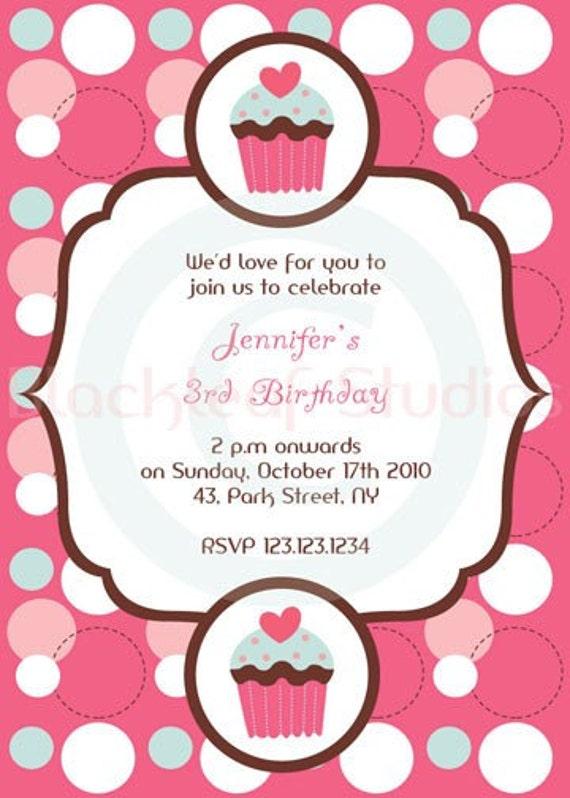 ... or Birthday Party 5x7 Card by Blackleaf Studios | Catch My Party