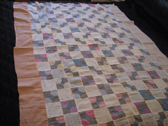 Hand Sewn Quilt Top