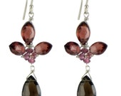 Reserved for mismonypeny Cassis Earrings