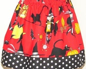 CLEARANCE, Life's a Witch Skirt, Halloween, Alexander Henry, Sizes Available 3T, 4T, and 5T