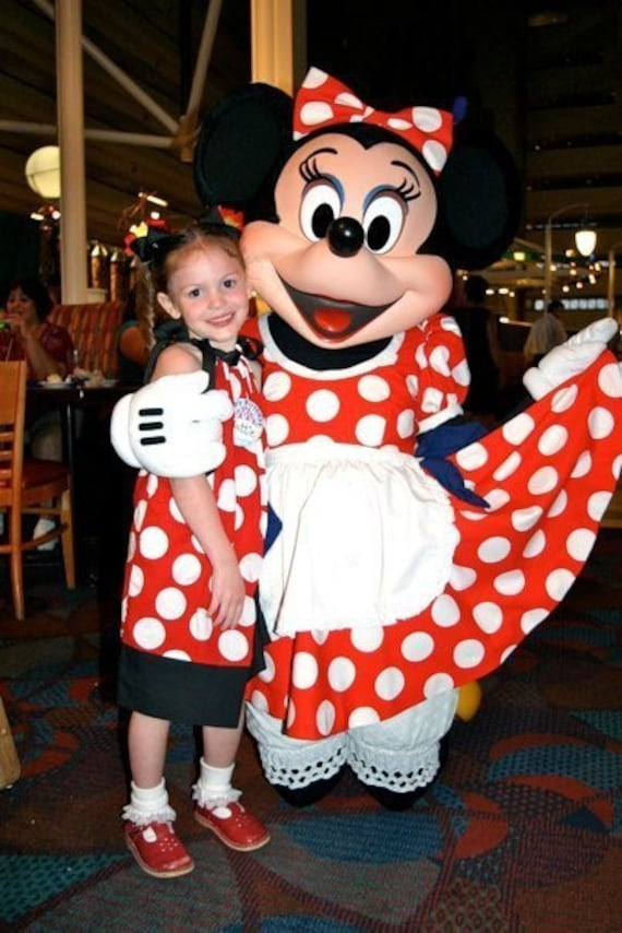 Featured Princess, Custom Minnie Mouse Pillowcase Dress, Mickey Mouse, Disney Vacation, 12 18 2 3 4 5 6