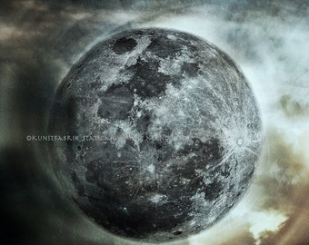 MOON Full Abstract Original Fine Art Color Photograph