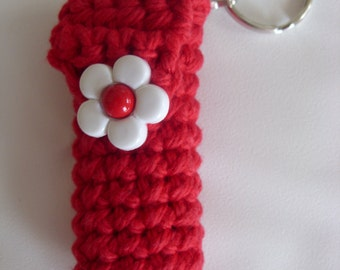 Candy Apple Red  Lip Balm Cozy