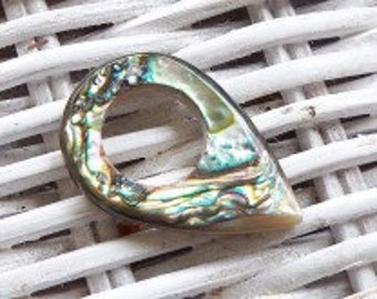 Handmade natural Rainbow Abalone guitar pick or pendant. Guitar Pick/Guitar Picks