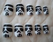 ON CLEARANCE SALE Star Wars Storm Trooper Nails