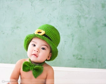 Luck of the Irish Hat, Irish Hat, St Patrick Day Baby, Photo Prop for Kids