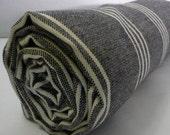 Turkish Bath Towel...PESHTEMAL BLACK
