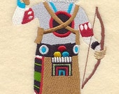 BEAR KACHINA DOLLS - Machine Embroidery Quilt Block(AzEB)