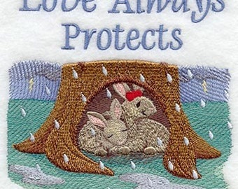 LOVE IS - MACHINE EMBROIDERY QUILT BLOCKS (AZEB)