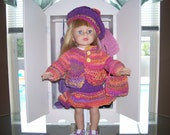 American Girl Doll Four Piece Outfit....FREE SHIPPING