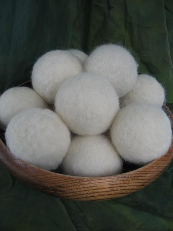 Farm Fresh Dryer Balls set of  seven for  nlbenj